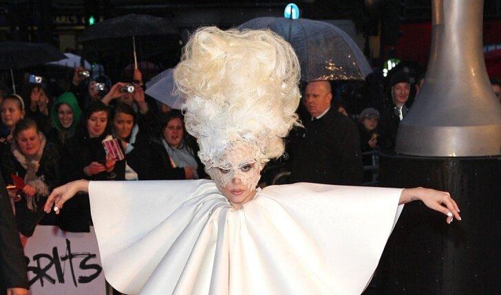 6 kartai, kai Lady Gaga šokiravo pasaulį