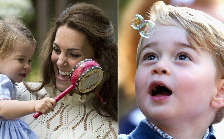 """Mažieji princas ir princesė dūko vaikų šventėje <sup style=""""color: #ff0000;"""">(FOTO)</sup>"""