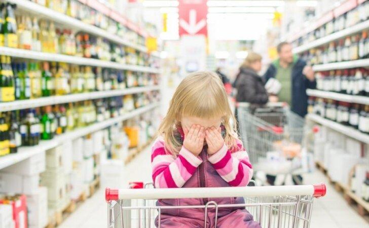 Kaip jaučiasi vaikas, kurio namuose geriamas alkoholis