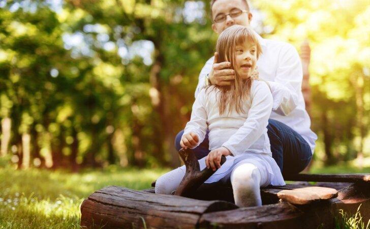 Visuomenė tampa vis labiau tolerantiška Dauno sindromą turintiems vaikams