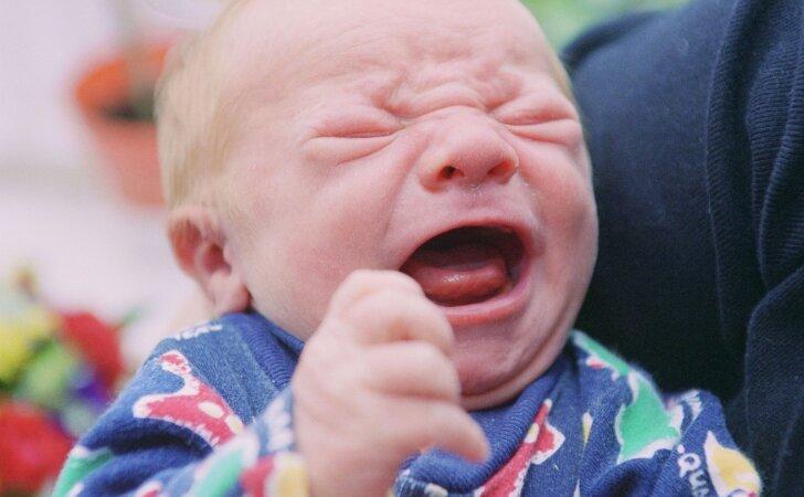 Šokiravo skelbimas internete: parduodamas kūdikis