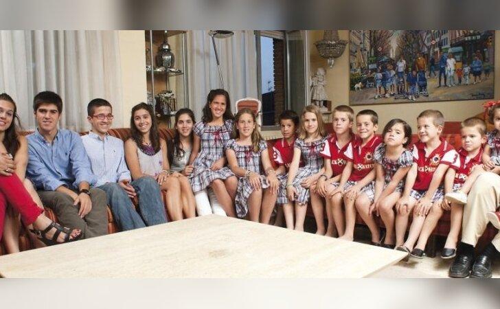 15 vaikų mama: su kiekvienu vaiku laimės daugėja