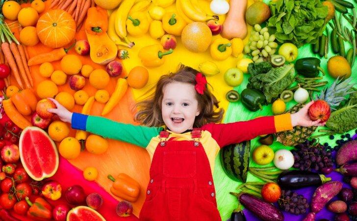 Gydytoja dietologė: kasdien turime suvalgyti ne mažiau 400 g daržovių ir 300 g vaisių