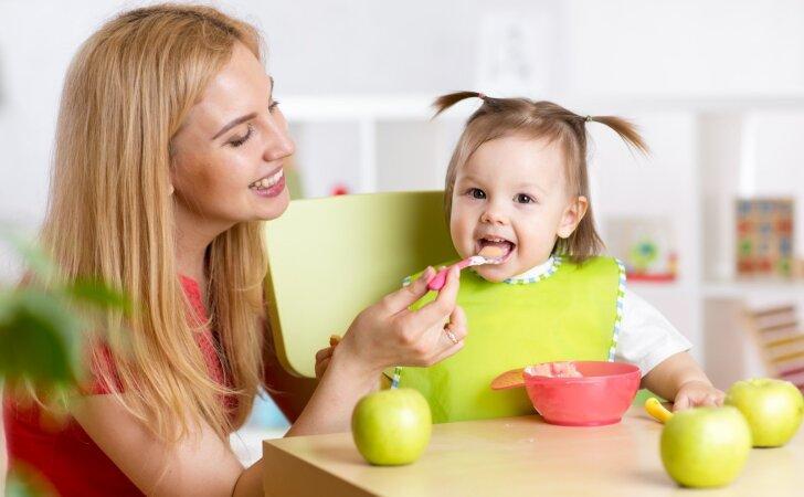 Gydytojai perspėja: 1-3 metų vaikų mitybos įpročiai yra labai svarbūs
