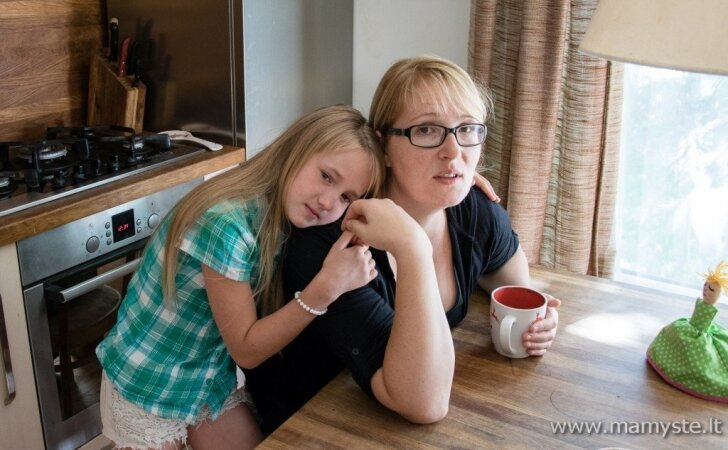 8 vaikus auginanti Eglė griauna įsivaikinimo stereotipus