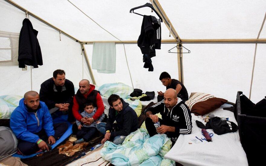 Вице-канцлер: есть идея обязать беженцев изучать литовский язык и культуру