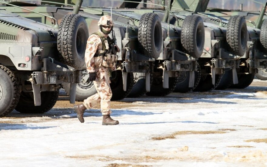 В Литве находятся российские и белорусские военные эксперты