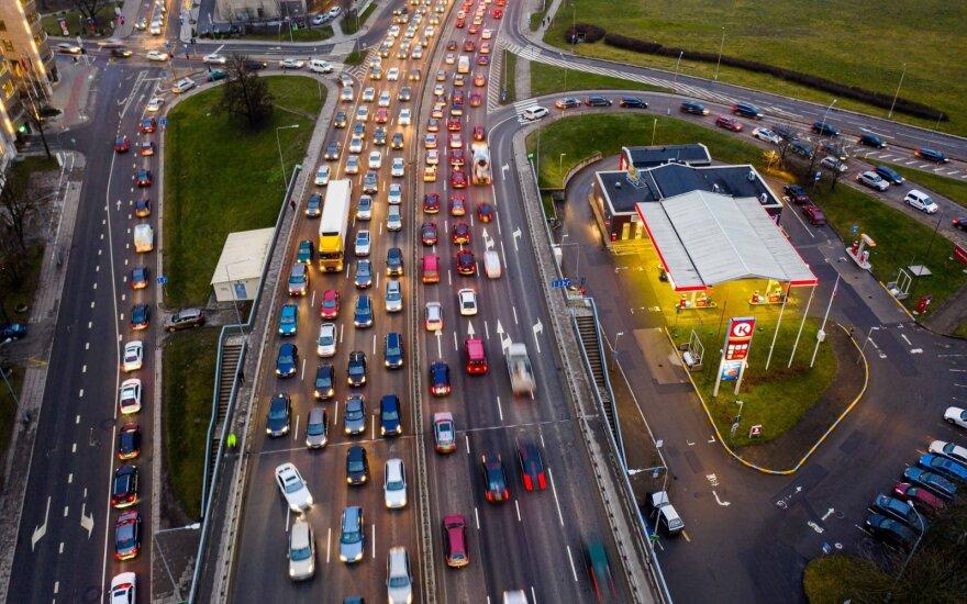 Выяснилось, в какое время ездить по Вильнюсу не стоит: сэкономить можно 8 часов в год