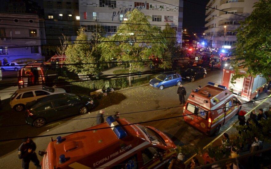 Из-за пожара в клубе в Бухаресте погибли 27 человек