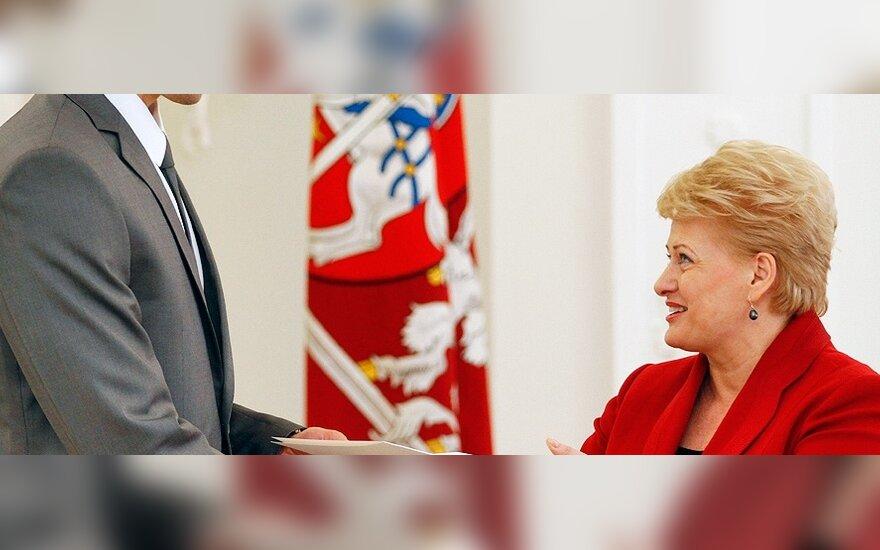Robertas Javtokas, Dalia Grybauskaitė