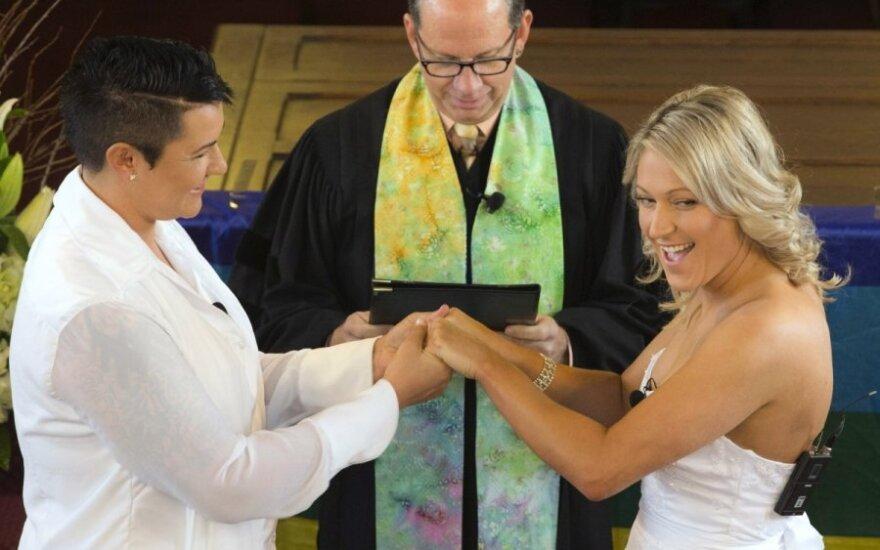 В Новой Зеландии сыграли первые однополые свадьбы