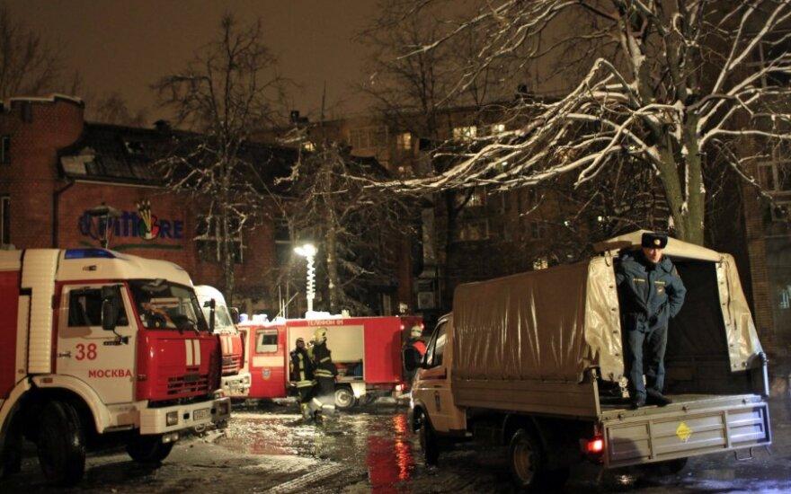 Per sprogimą restorane Maskvoje žuvo 2, sužaloti 27 žmonės
