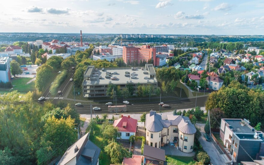 Planuojamos statyti Kauno klinikų aikštelės vizualizacijos
