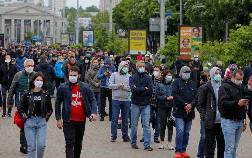 В Минске проходят пикеты за альтернативных кандидатов в президенты