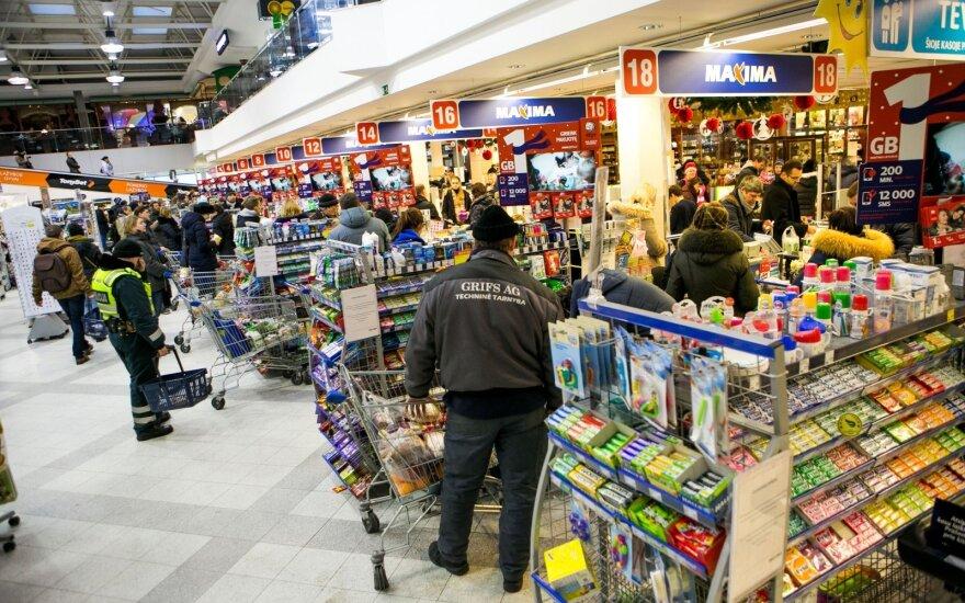 Maxima признала, что в прошлом году ее оборот в Литве снизился