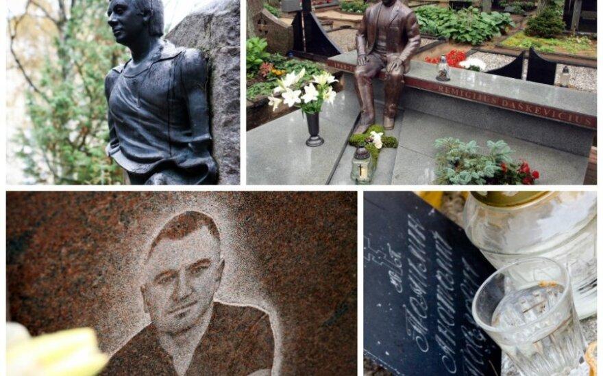Как выглядят могилы легенд преступного мира Литвы