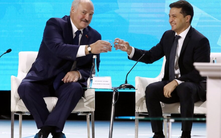 Aliaksandras Lukašenka, Volodymyras Zelenskis