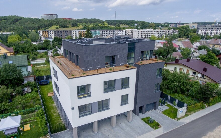 В ноябре литовский рынок недвижимости замедлился