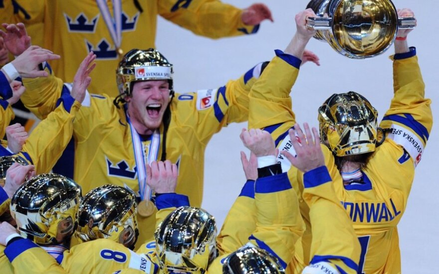 Švedijos ledo ritulininkų triumfas