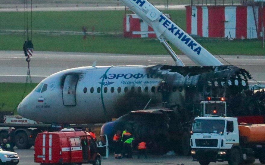 Названы две ошибки пилотов SSJ-100 сгоревшего в Шереметьево самолета