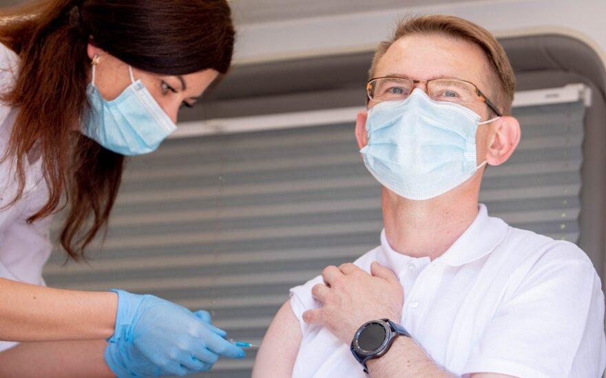 Глава Минздрава Литвы: при нынешних темпах вакцинации 70% жителей привьем к сентябрю