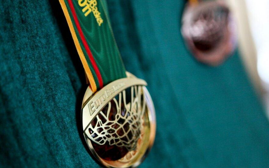 """""""Eurobasket 2011"""" medaliai"""