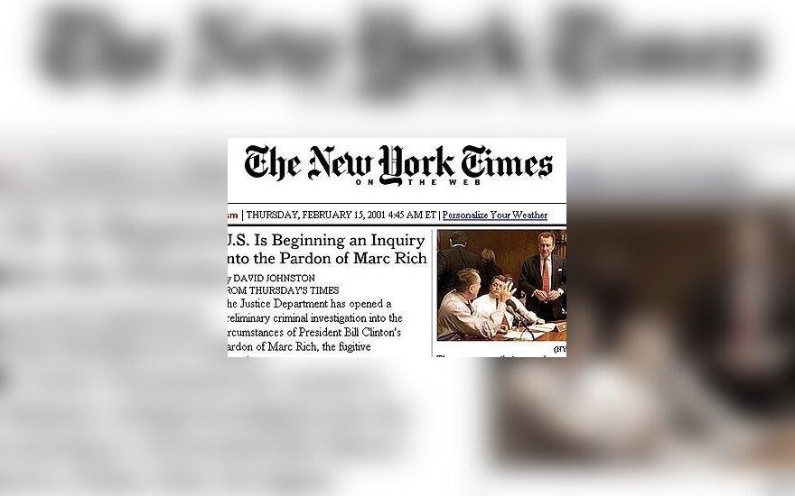 Chińczycy zamierzają kupić New York Times
