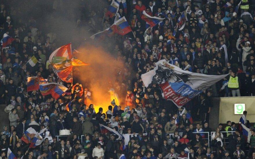 Rusijos rinktinės fanai
