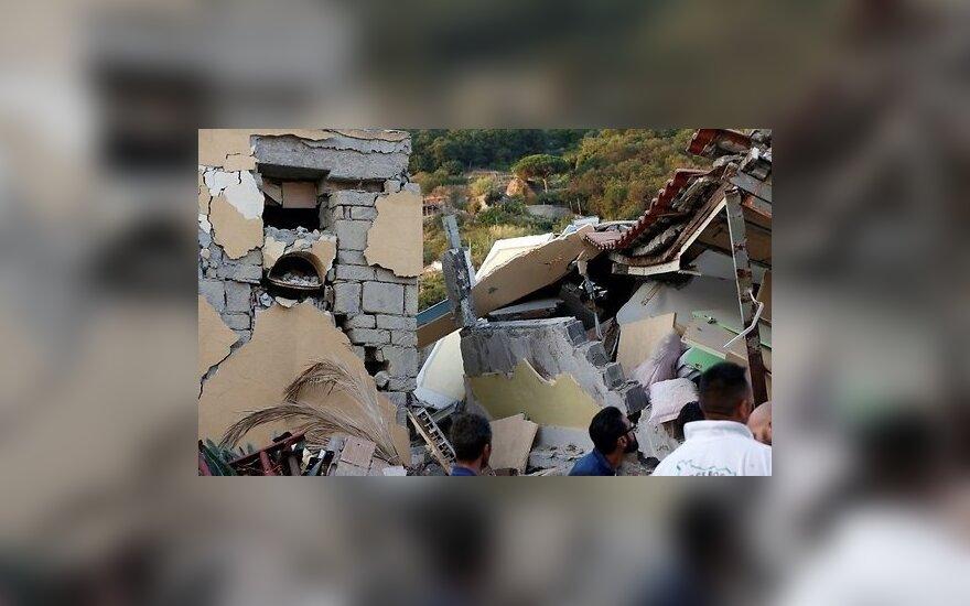 На итальянском острове Искья произошло землетрясение: двое погибших