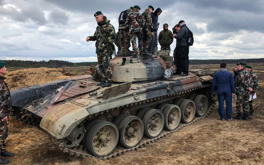 Расширение полигонов: правительство Литвы разрешило вырубку лесов в Швенченском и Йонавском районах