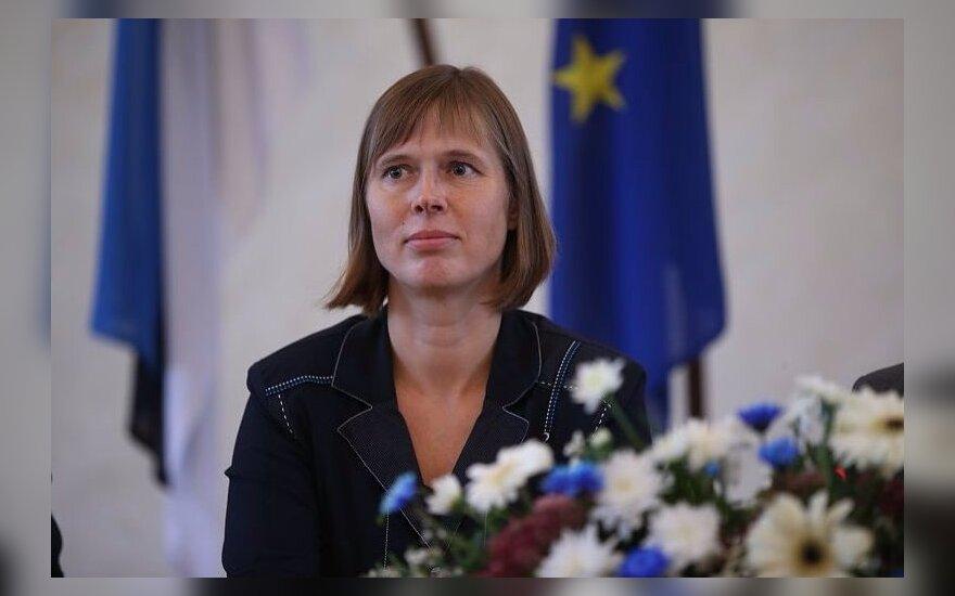 Литовские эксперты: Кальюлайд будет смелым президентом Эстонии