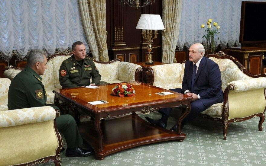 Sergejus Šoigu, Aliaksandras Lukašenka