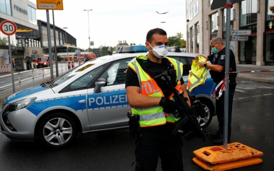 В Берлине машина с эстонским номером въехала в толпу людей, серьезно пострадали семеро