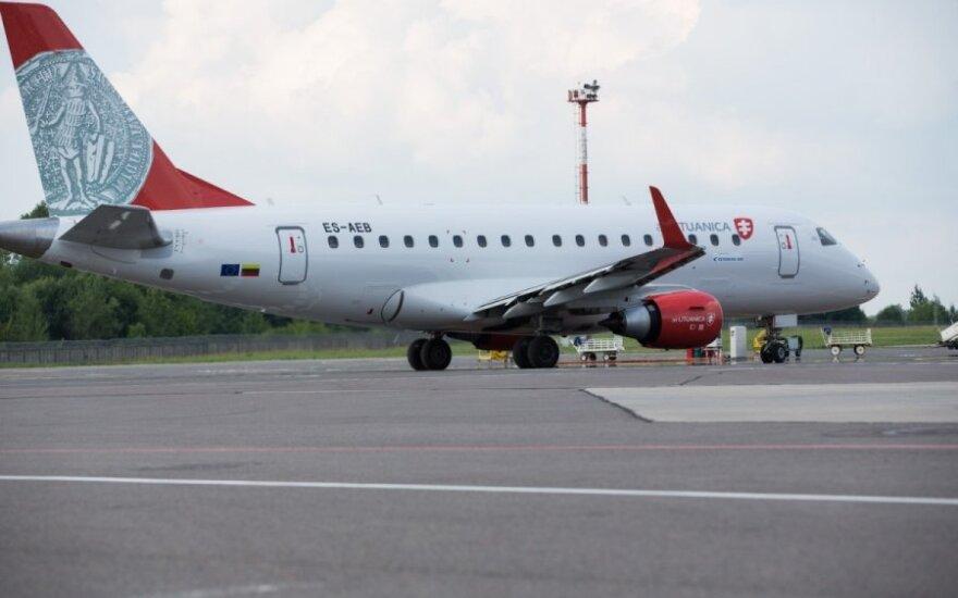 Air Lituanica начинает полёты в Прагу и Россию