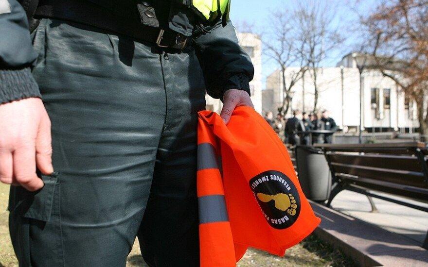Policininkų piketas