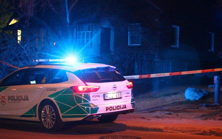 В Вильнюсе на улице обнаружено тело мужчины