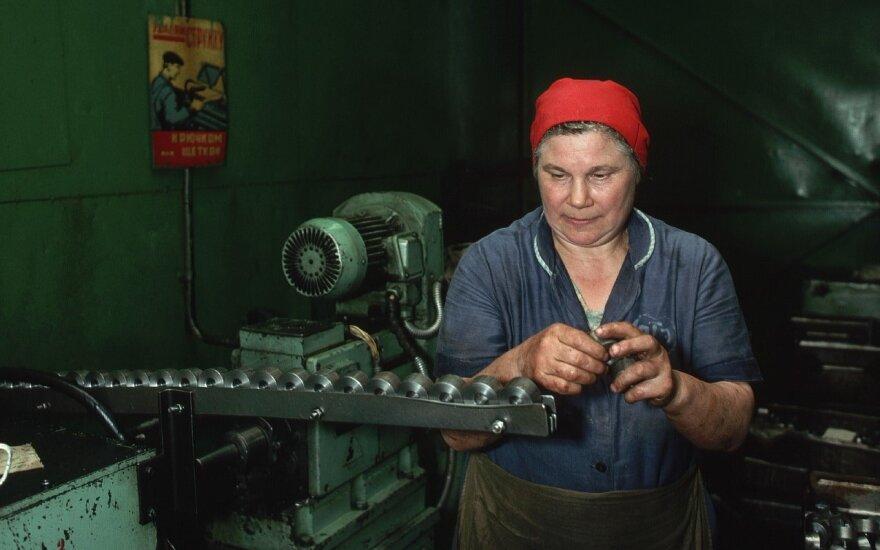 К вопросу об индустриальном пейзаже Литвы: была передовая промышленность, разгромили, остался шлак?