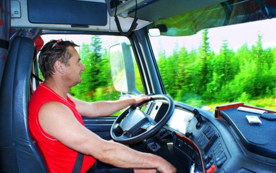 Sunkvežimio vairuotas