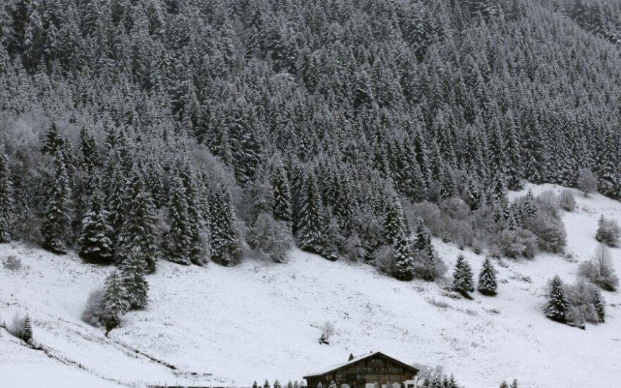 Sniegas Europoje