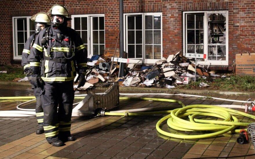 Неизвестные пытались поджечь редакцию газеты в Гамбурге