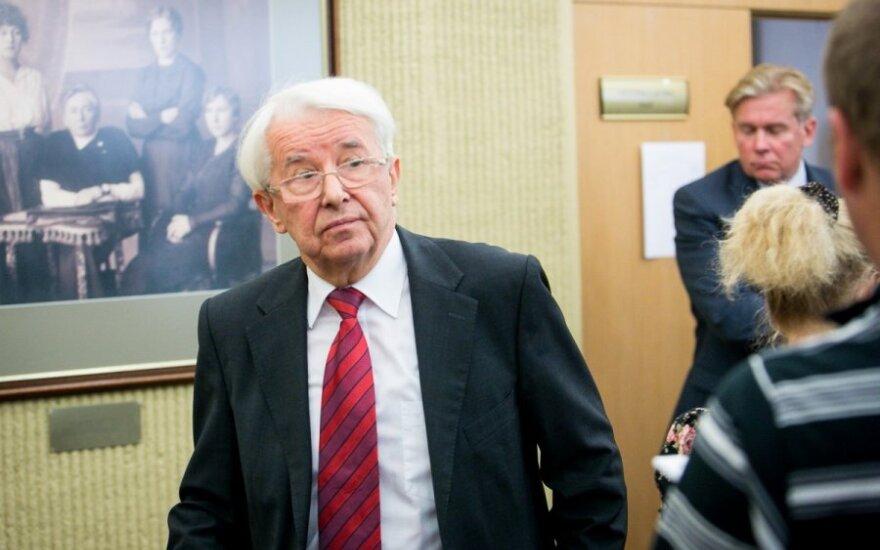 Юодка: посол Украины оптимистично оценивает начало переговоров с оппозицией