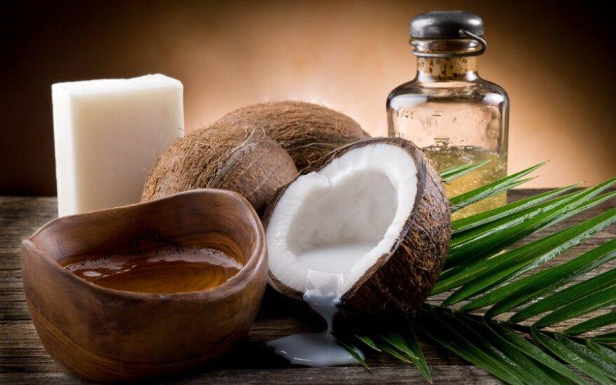 10 рецептов с кокосовым маслом для волос, лица и тела