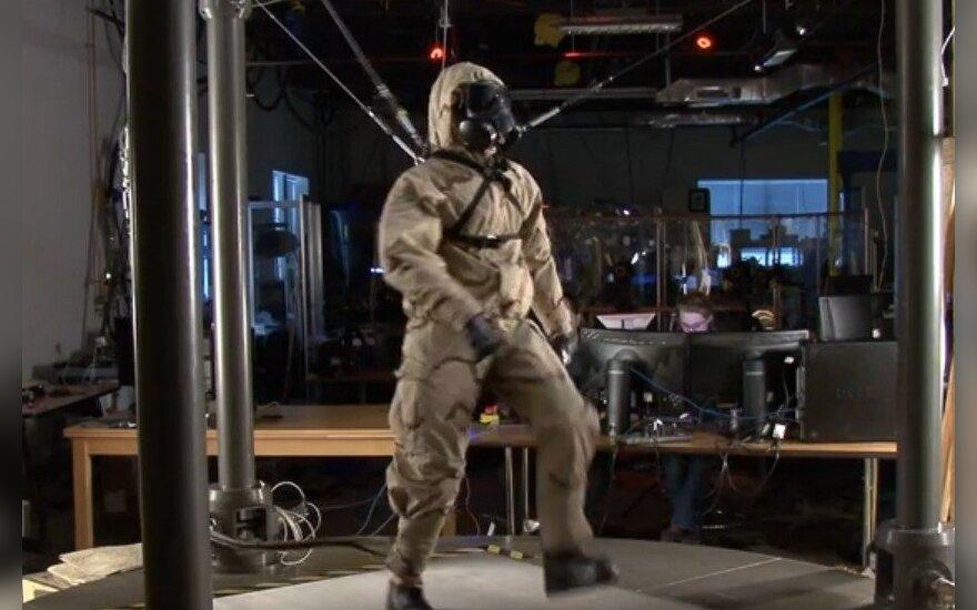 Робот PETMEN стал роботом-солдатом - и уже почти как живой