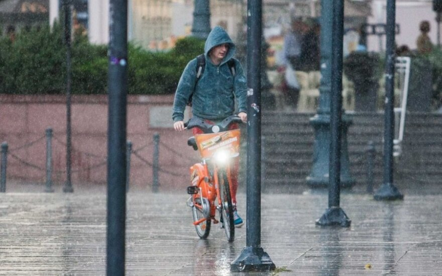 Прогноз: в середине недели возможен небольшой дождь