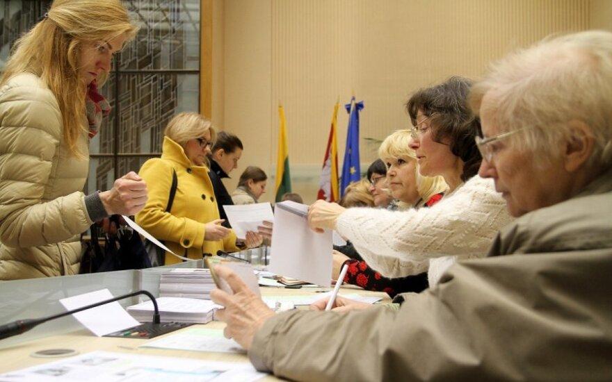 На президентских выборах досрочно проголосовали 129 000 человек