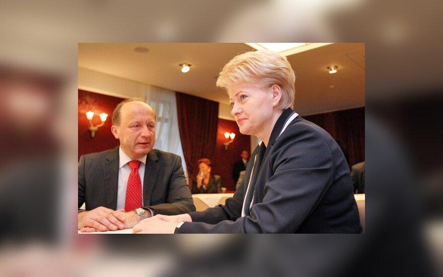 Andrius Kubilius ir Dalia Grybauskaitė