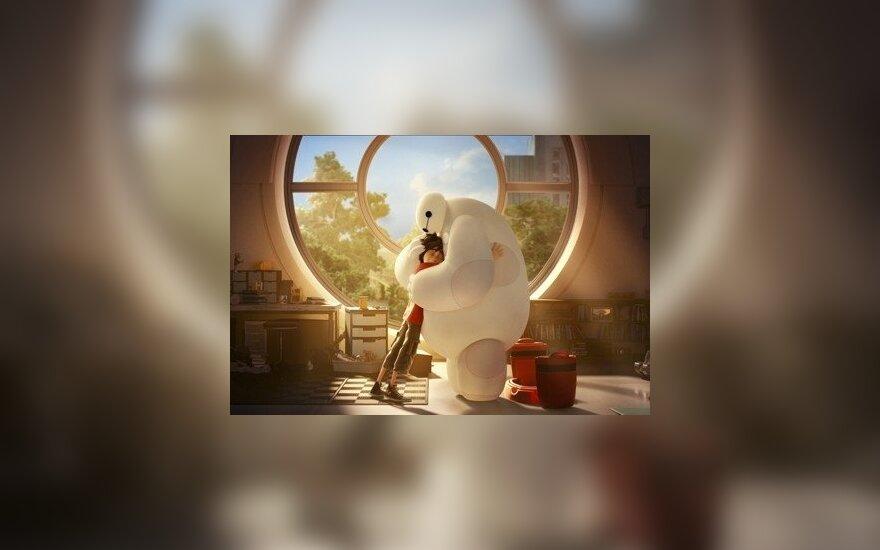 Кадр из мультфильма «Город героев»