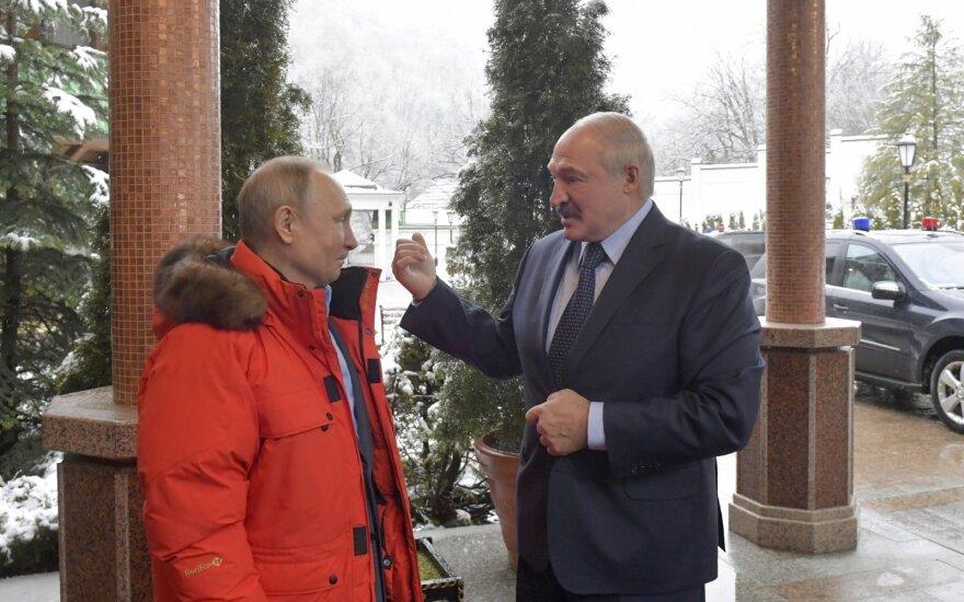 Putinas priėmė Lukašenką