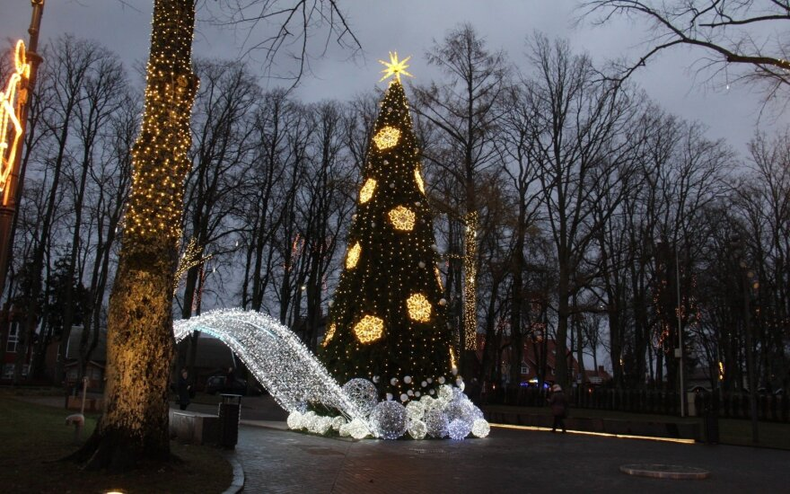 Паланга готовится к праздникам: новогодняя ночь – около 100 евро