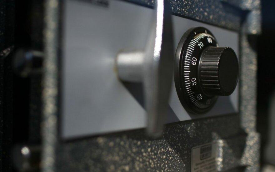 В Шальчининкай воры разрезали сейф